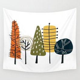 Fall Pattern Wall Tapestry