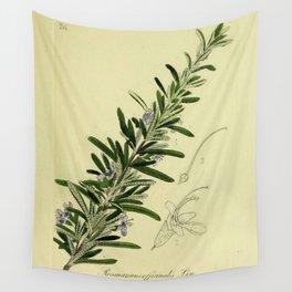 Botanical Rosemary Wall Tapestry