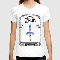 legend of zelda T-shirts featuring Zelda legend - Sword by Art & Be
