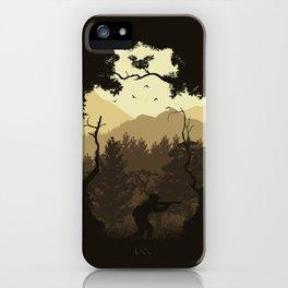 Hunting Season - Brown iPhone Case