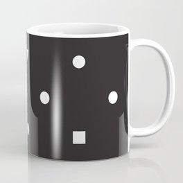 Black and White Shapes Coffee Mug