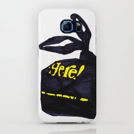 Here! iPhone Case