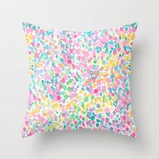 Lighthearted Summer Throw Pillow