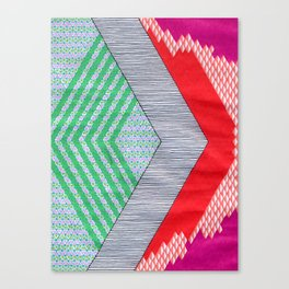 Isometric Harlequin #8 Canvas Print