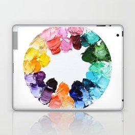 Color Wheel Polka Daubs Laptop & iPad Skin