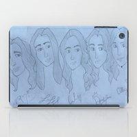 fifth harmony iPad Cases featuring Fifth Harmony Cartoon by Julia