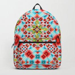 Tartan Starburst Backpack