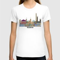 dc T-shirts featuring washington dc  by bri.buckley