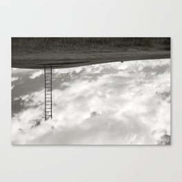 Heaven is here on Earth Canvas Print
