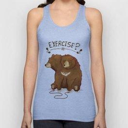 Fitness Bear Unisex Tank Top