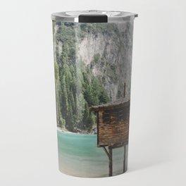 Braies Lake #2 Travel Mug