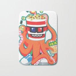 Hurricane Popcorn Kaiju Food Monster Bath Mat