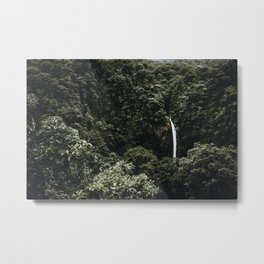 Waterfall / Costa Rica Metal Print