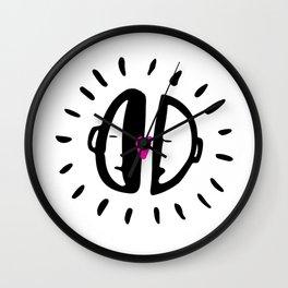 <3 Wall Clock
