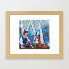 Bedtime Stories II Framed Art Print