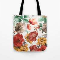 wine Tote Bags featuring Wine by Karen Hofstetter