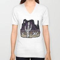 arizona V-neck T-shirts featuring Arizona by WEAREYAWN