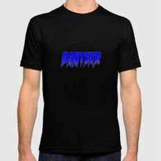 Panther Black LARGE Mens Fitted Tee