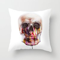 true blood Throw Pillows featuring True Blood B by beart24