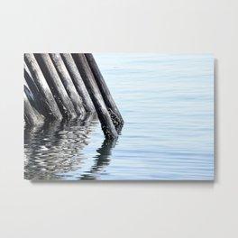 Ferry Port Metal Print