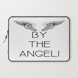 By the Angel! Laptop Sleeve