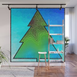 Energized Tree Wall Mural