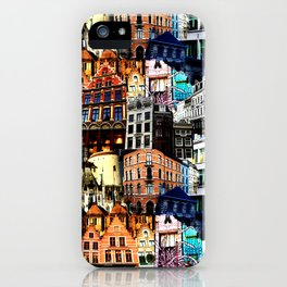 Belgian Houses iPhone Case