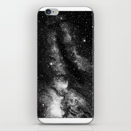 The stars at night are big and bright iPhone Skin