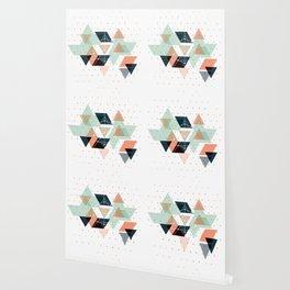 Midcentury geometric abstract nr 011 Wallpaper