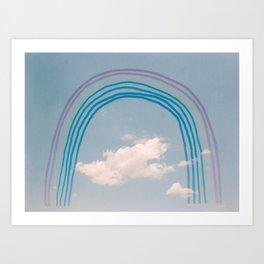 Sky Full of Rainbows Art Print