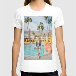 Palm Springs Pool Day II T-shirt