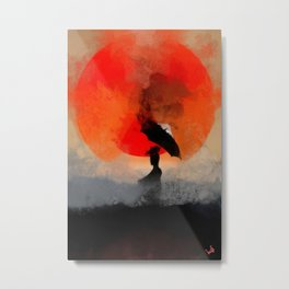 umbrellaliensunshine: atomicherry winter! Metal Print