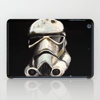 storm trooper iPad Cases featuring Storm Trooper by Panxy_Art