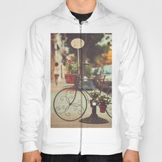 The bike with the flowers Hoody
