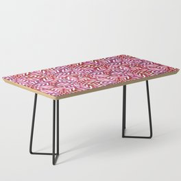 I don't need to improve - Pink and red Coffee Table