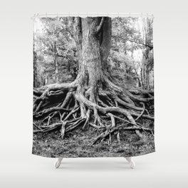 Tree of Life and Limb Shower Curtain
