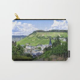 Traben-Trarbach as seen from above Carry-All Pouch