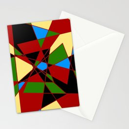 Shattered Multi-Color Geometric Stationery Cards