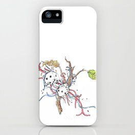 Luck, Skill, Fate iPhone Case
