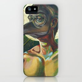 The Masked Man iPhone Case