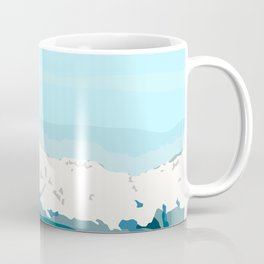 A first look to the cold mountain Coffee Mug