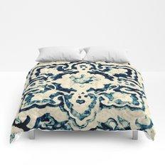tile pattern - Portuguese azulejos Comforters
