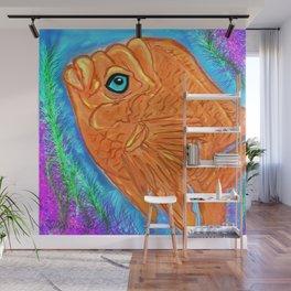 Gorgeous Garibaldi Fish Wall Mural