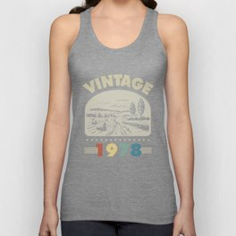 Birthday Gift Vintage 1978 Classic Unisex Tank Top