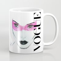 vogue Mugs featuring Vogue by Macor