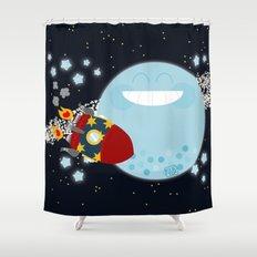 Le Voyage dans la Lune Shower Curtain