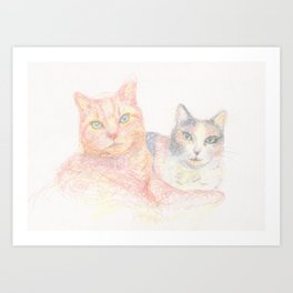 Duncan and Coleco Art Print