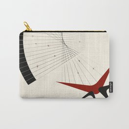 Mid Century Modern Boomerangs Carry-All Pouch