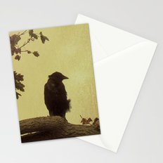 Old Crow Stationery Cards
