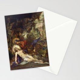 12,000pixel-500dpi - Gustave Moreau - Pieta - Digital Remastered Edition Stationery Cards